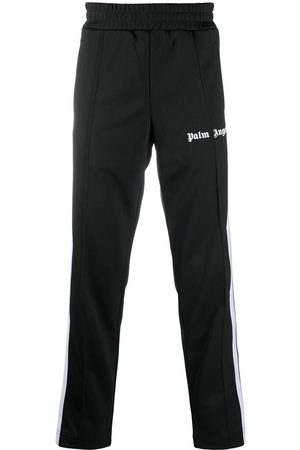 Palm Angels Homme Joggings - Pantalon de jogging à logo imprimé