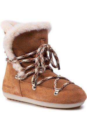 Moon Boot Bottes de neige - Dk Side High Shearling 24300100001 Whisky/Off White