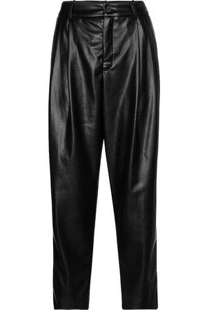Velvet Pantalon carotte Simone en cuir synthétique