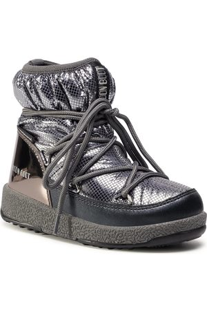Moon Boot Bottes de neige - Jrgirl Low Nylon Premium Wp 34052300002 M Metal Gun