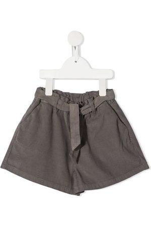 KNOT Shorts - Okemia self-tie belted shorts