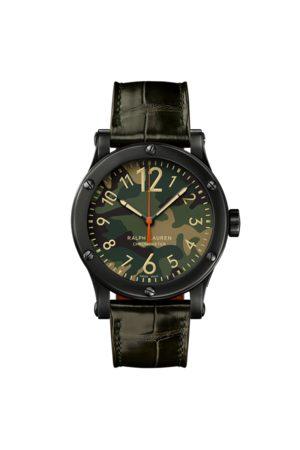 Ralph Lauren Homme Montres - Chronomètre 45 MM acier
