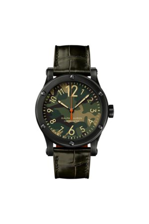 Ralph Lauren Homme Montres - Chronomètre acier 39 MM
