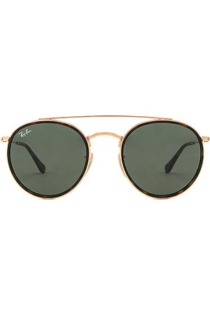 Ray-Ban LUNETTES DE SOLEIL RONDES DOUBLE PONT in .