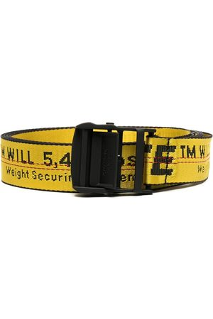 OFF-WHITE CLASSIC INDUSTRIAL BELT YELLOW BLACK