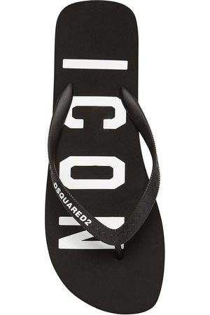 Dsquared2 Tongs En Caoutchouc Imprimé Icon