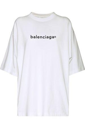 """Balenciaga T-shirt En Jersey De Coton """"new Copyright"""""""