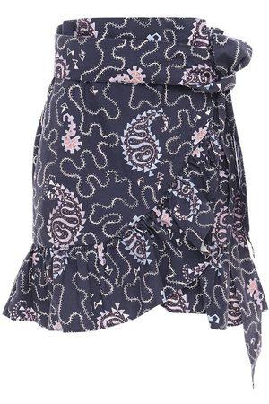 """Isabel Marant Mini-jupe En Coton Imprimé """"liliko"""""""