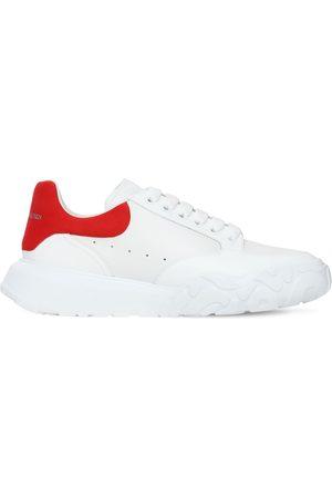 """Alexander McQueen Sneakers Oversize En Cuir """"court"""" 40 Mm"""