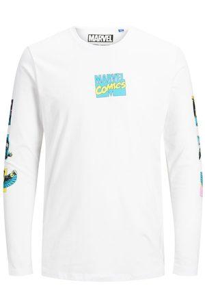 Jack & Jones Marvel Long-sleeved T-shirt Men White
