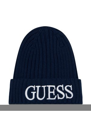 Guess Homme Bonnets - Bonnet - Quarto Hats AM8724 WOL01 BLU
