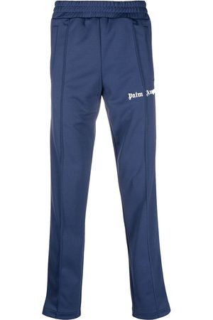 Palm Angels CLASSIC TRACK PANTS NAVY BLUE WHITE