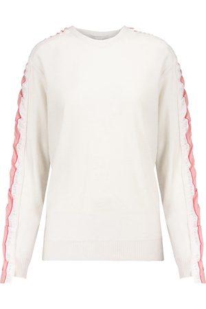 Stella McCartney Sweat-shirt Monogram en laine vierge