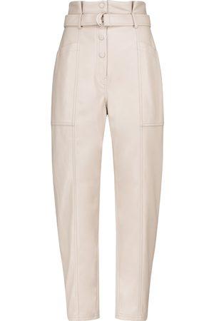JONATHAN SIMKHAI Pantalon slim Leela en cuir synthétique