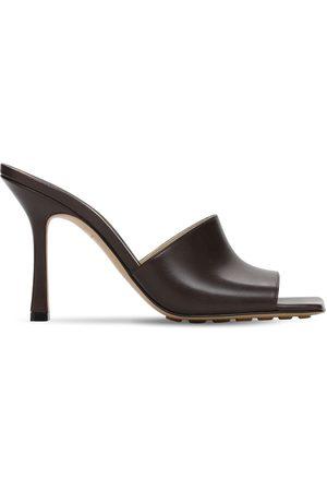 Bottega Veneta Femme Sandales - Sandales En Cuir 90 Mm
