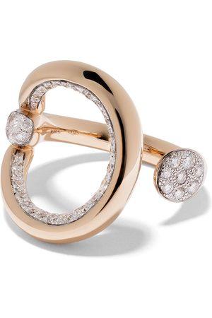 Pomellato Bague Fantina en or rose 18ct ornée de diamants