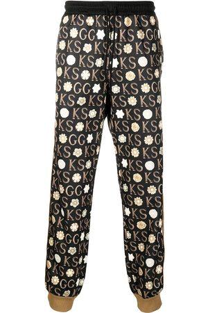 Gucci X Ken Scott pantalon de jogging imprimé