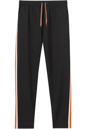 Burberry Pantalon de jogging à détail rayé