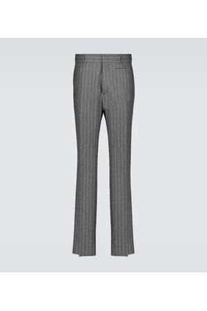 Fendi Pantalon en flanelle de laine