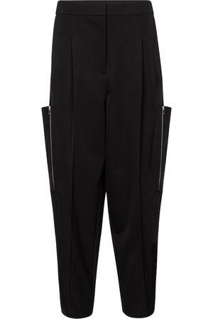 Stella McCartney Femme Cargos - Pantalon cargo Liv à taille haute en laine