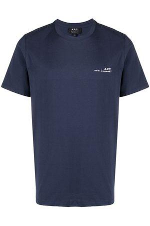 A.P.C. T-shirt à logo imprimé