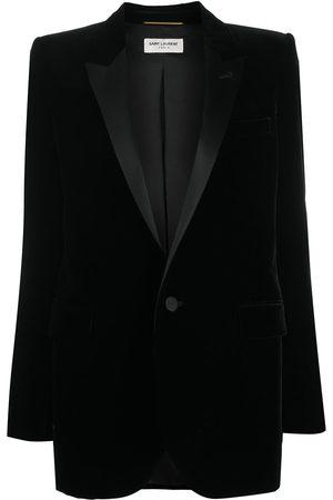 Saint Laurent Veste de costume en velours