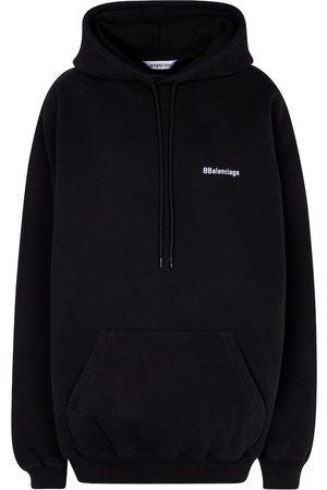 Balenciaga Sweat-shirt à logo en coton