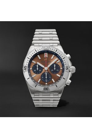 Breitling Chronomat B01 Automatic Chronograph 42mm Stainless Steel Watch, Ref. No. AB0134101K1A1