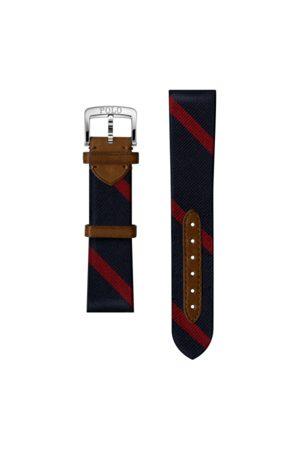 Polo Ralph Lauren Bracelet de montre en soie rayée