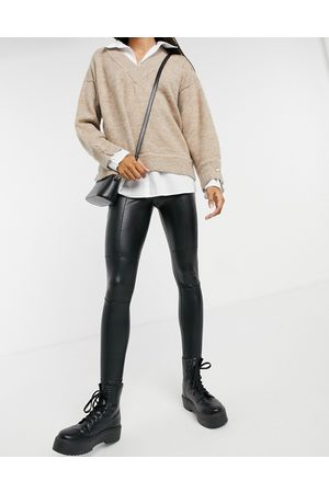 Lipsy London Jegging style motard en PU