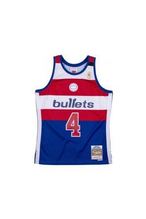 Mitchell & Ness Vêtements de sport - Maillot NBA Chris Webber Washington Bullets 1996-97 Hardwood Classics