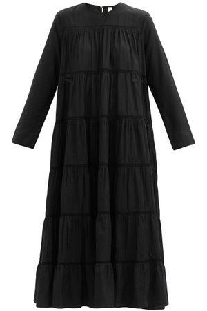 MERLETTE Femme Robes midi - Robe midi en coton et soie mélangés Maida