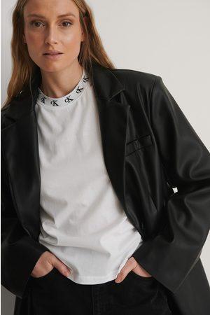 Calvin Klein Tee-Shirt Avec Logo - White
