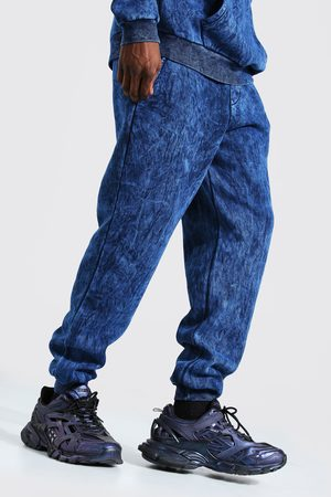 Boohoo Regular Fit Overdyed Jogger Homme