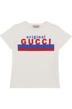 Gucci T-shirt en coton à logo