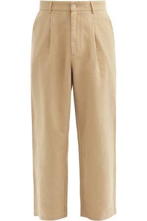 Raey Pantalon ample en coton et lin