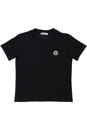Moncler T-shirt En Jersey De Coton