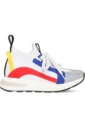 Dsquared2 Sneakers Slip-on À Lacets En Maille