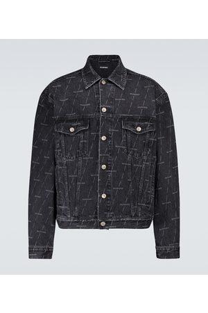 Balenciaga Veste en jean à logo