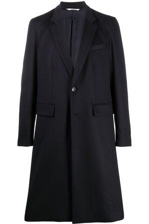 VALENTINO Manteau texturé à boutonnière
