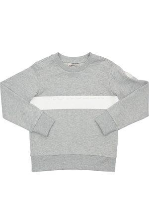 Moncler Sweat-shirt En Coton Avec Logo Estampé