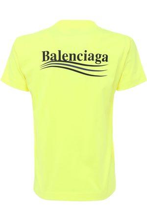 """Balenciaga T-shirt En Jersey Vintage """"political"""""""