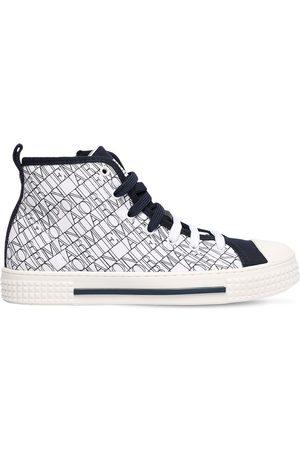 Emporio Armani Sneakers Montantes Avec Logo