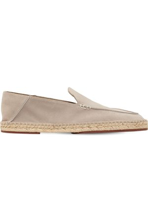 "Loro Piana Espadrilles En Daim ""seaside Walk"""