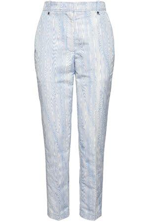 Rochas Pantalon Slim En Moiré Jacquard