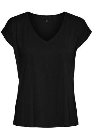 Vero Moda Femme Tops & T-shirts - V-neck Short Sleeved Top Women