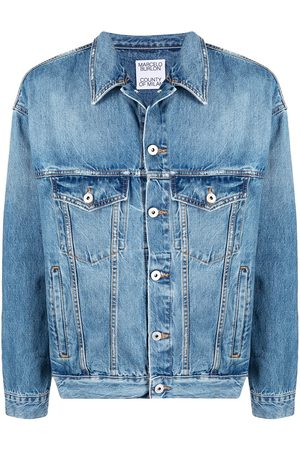 MARCELO BURLON Veste boutonnée en jean