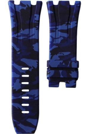 HORUS WATCH STRAPS Bracelet-montre 44 mm Blue Camo