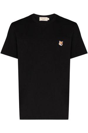 Maison Kitsuné T-shirt Fox Patch à patch logo