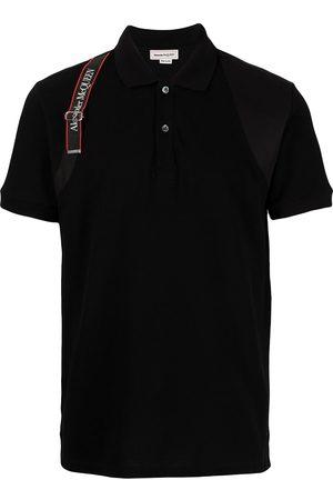 Alexander McQueen Polo à bande logo